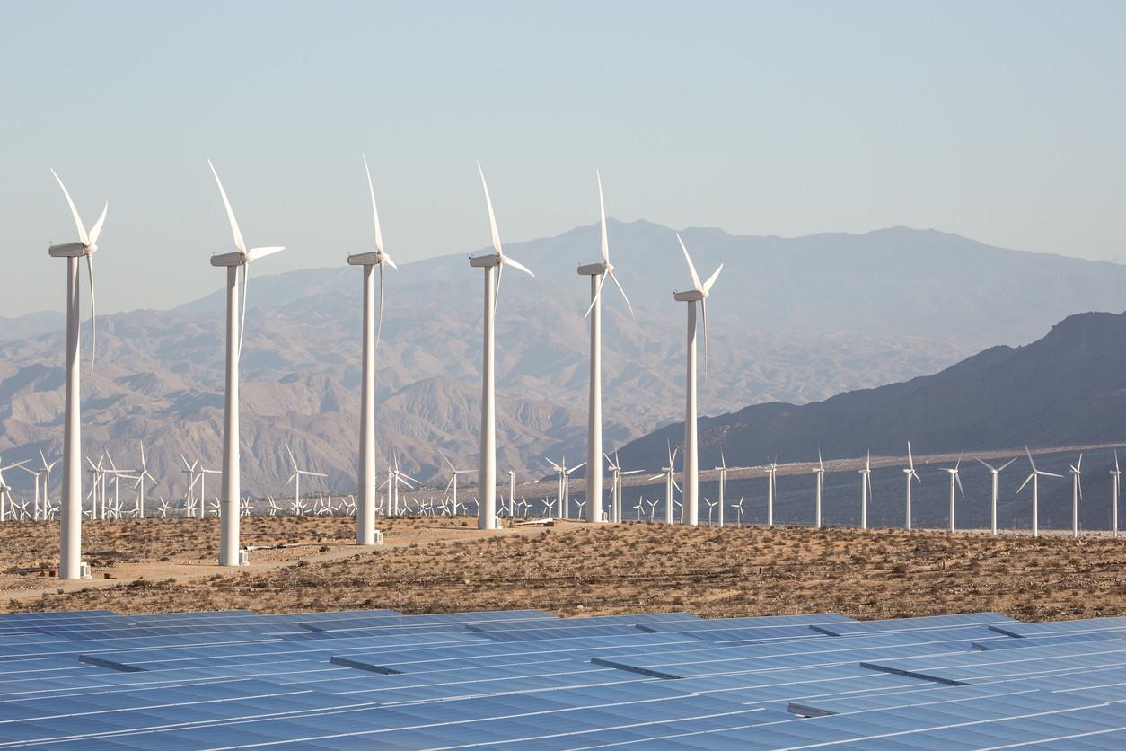 california energía eólica