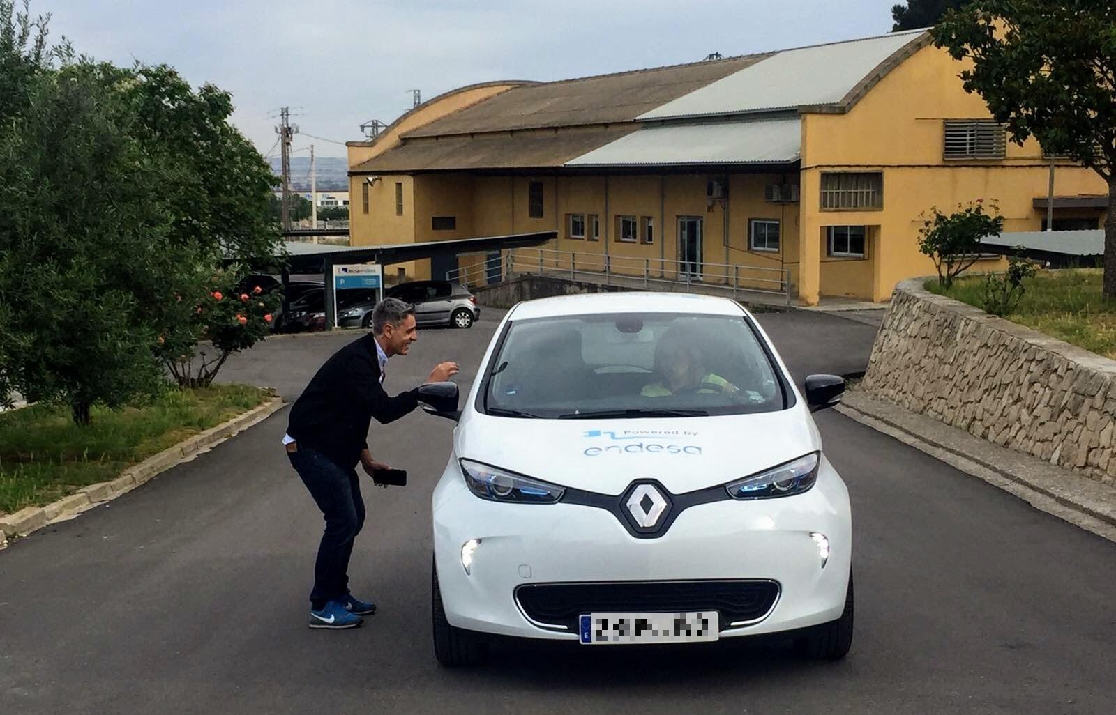 vuelta a España en vehículo eléctrico con renault zoe