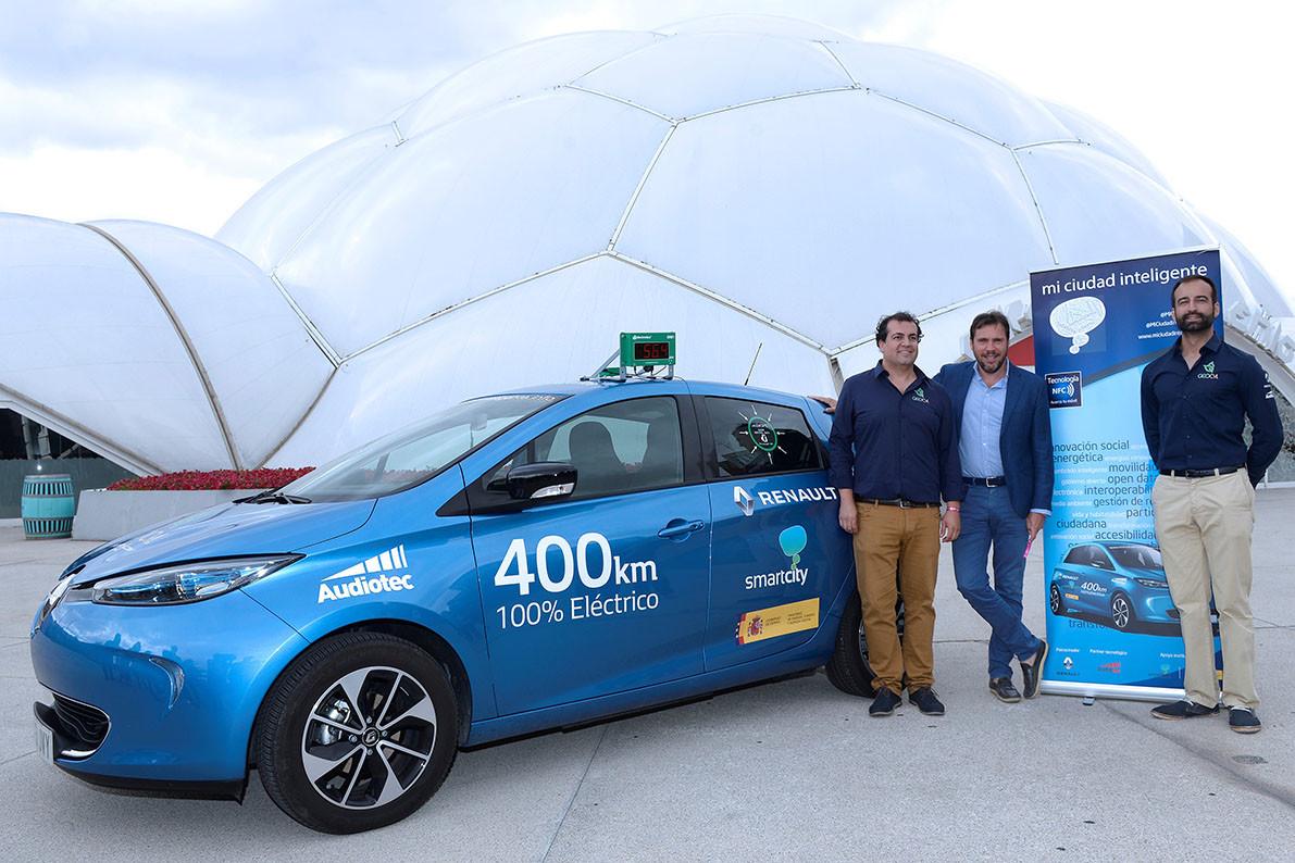 Renault ZOE viaje Mi Ciudad Inteligente decibelios