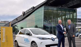 Una flota de 500 Renault ZOE llegará a las calles de Madrid en forma de car sharing