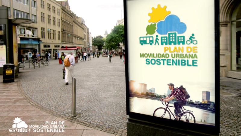 Marquesina con plan de movilidad urbana sostenible