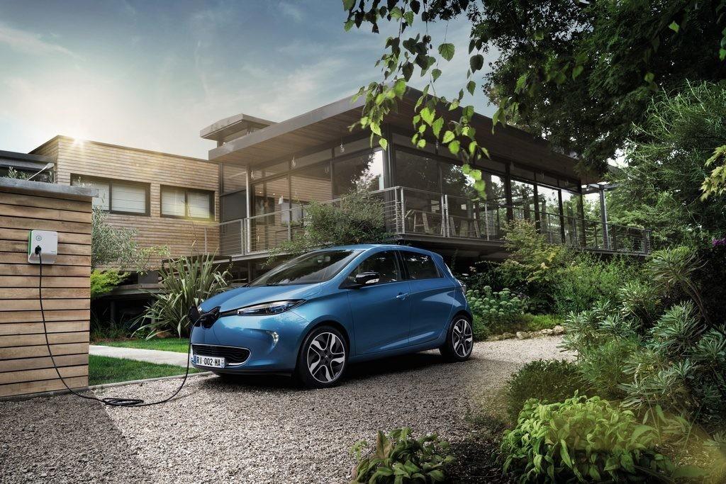Renault ZOE recarga doméstica