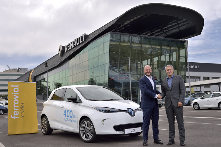 carsharing eléctrico Renault