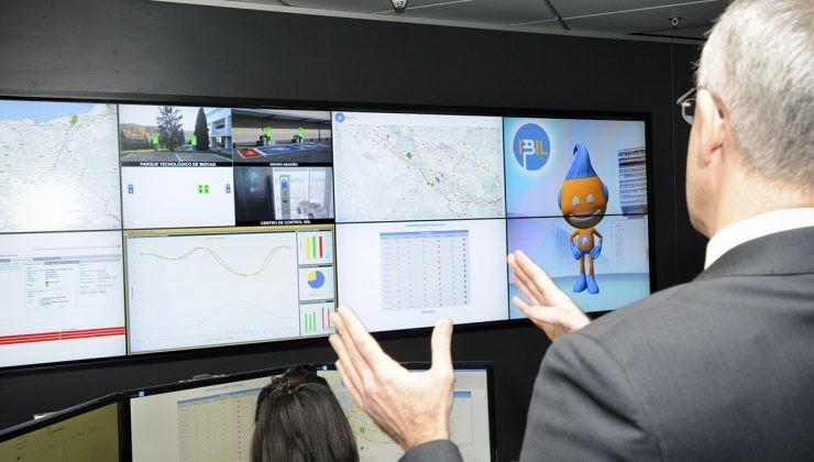 Centro control vehículo eléctrico IBIL