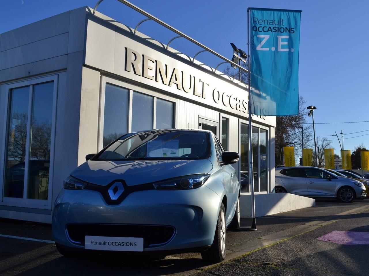 Renault ZOE en concesionario - Plan Movalt