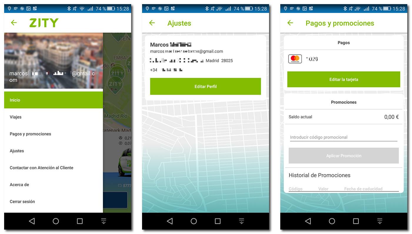 Zity app instalacion y registro
