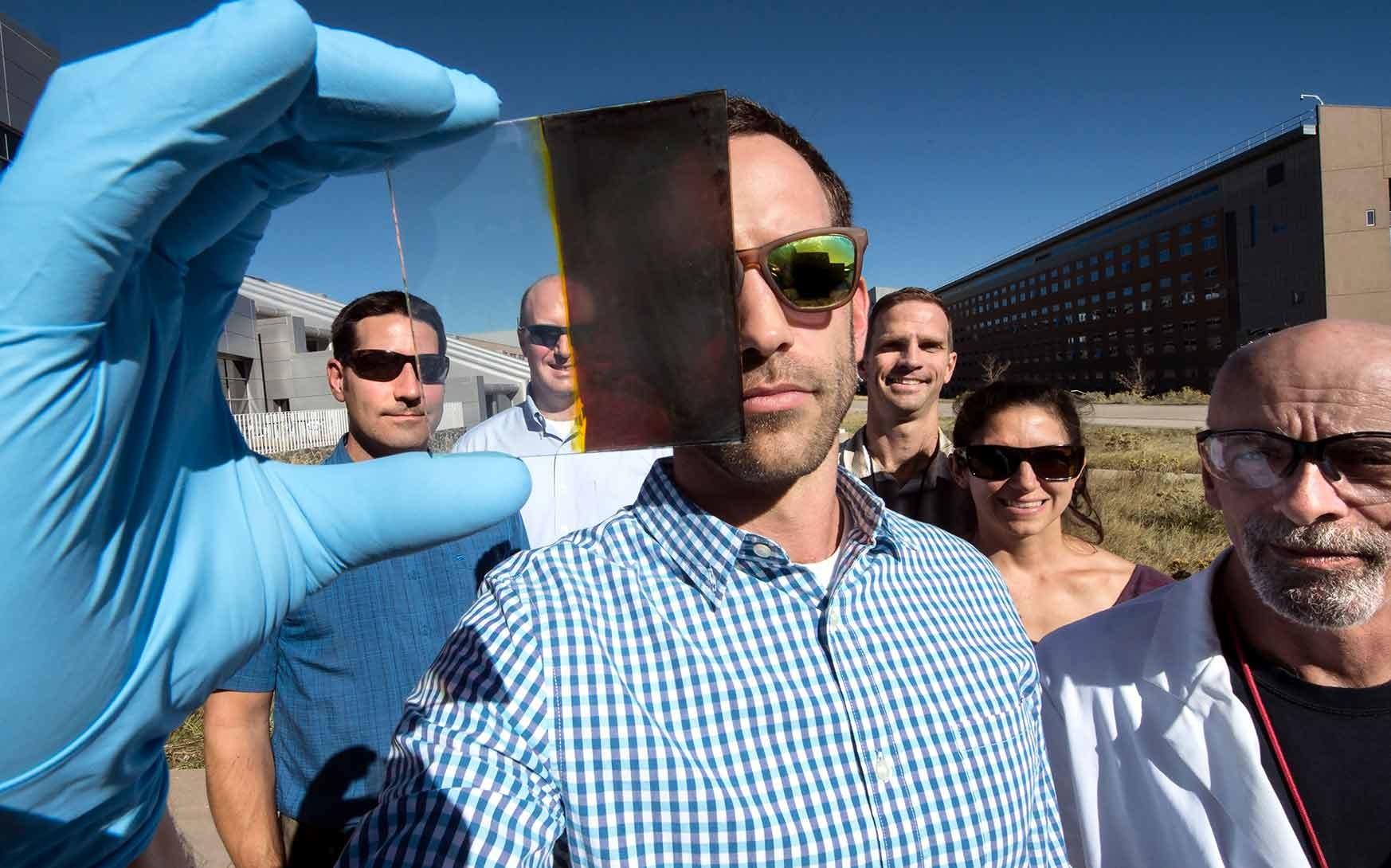 captacion solar lance wheeler NREL termocromico
