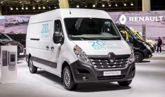 Renault obtiene el premio GreenFleet como fabricante de vehículos eléctricos
