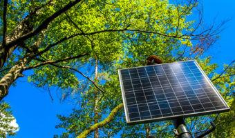 Estas soluciones captan luz solar integradas en la smart city