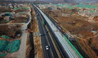 ¿Esta autopista solar en China es el futuro para el coche eléctrico?