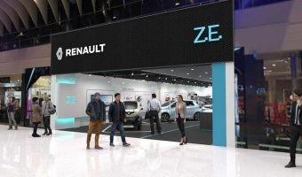 Renault abre su primer concept store dedicada al vehículo eléctrico