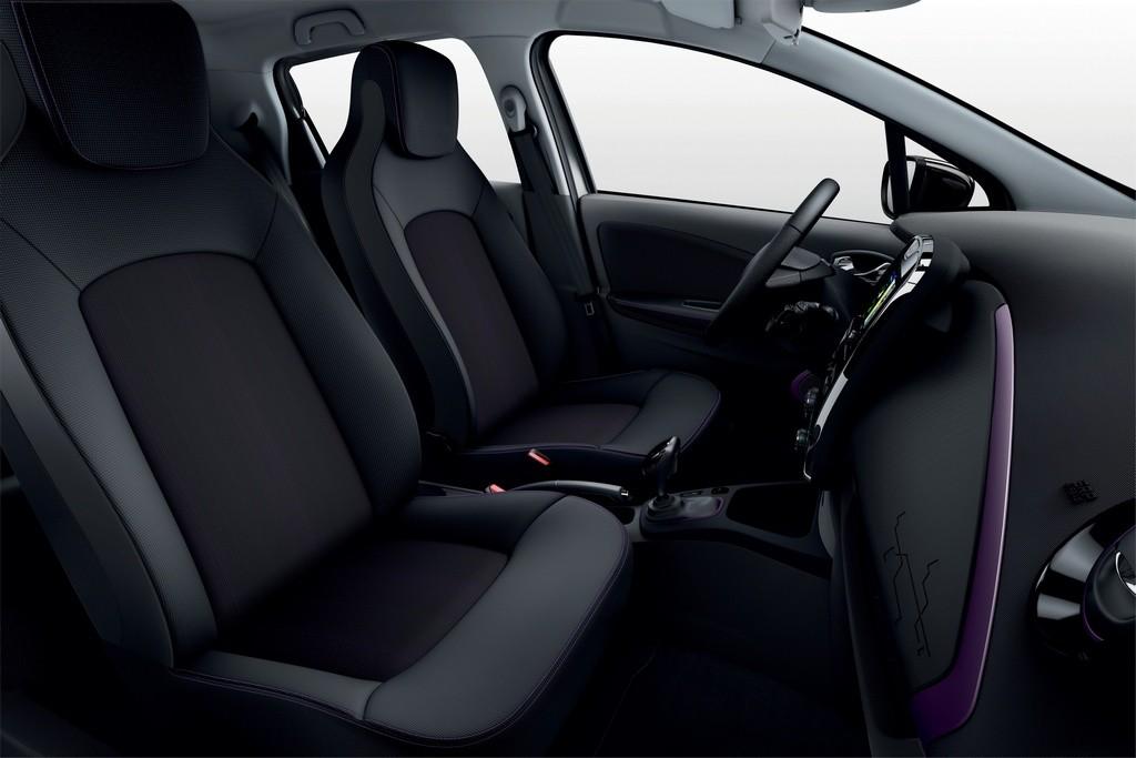 Detalles del nuevo color violet blueberry del Renault ZOE