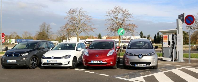 Recarga ultrarrápida coche eléctrico. E-VIA FLEX-E