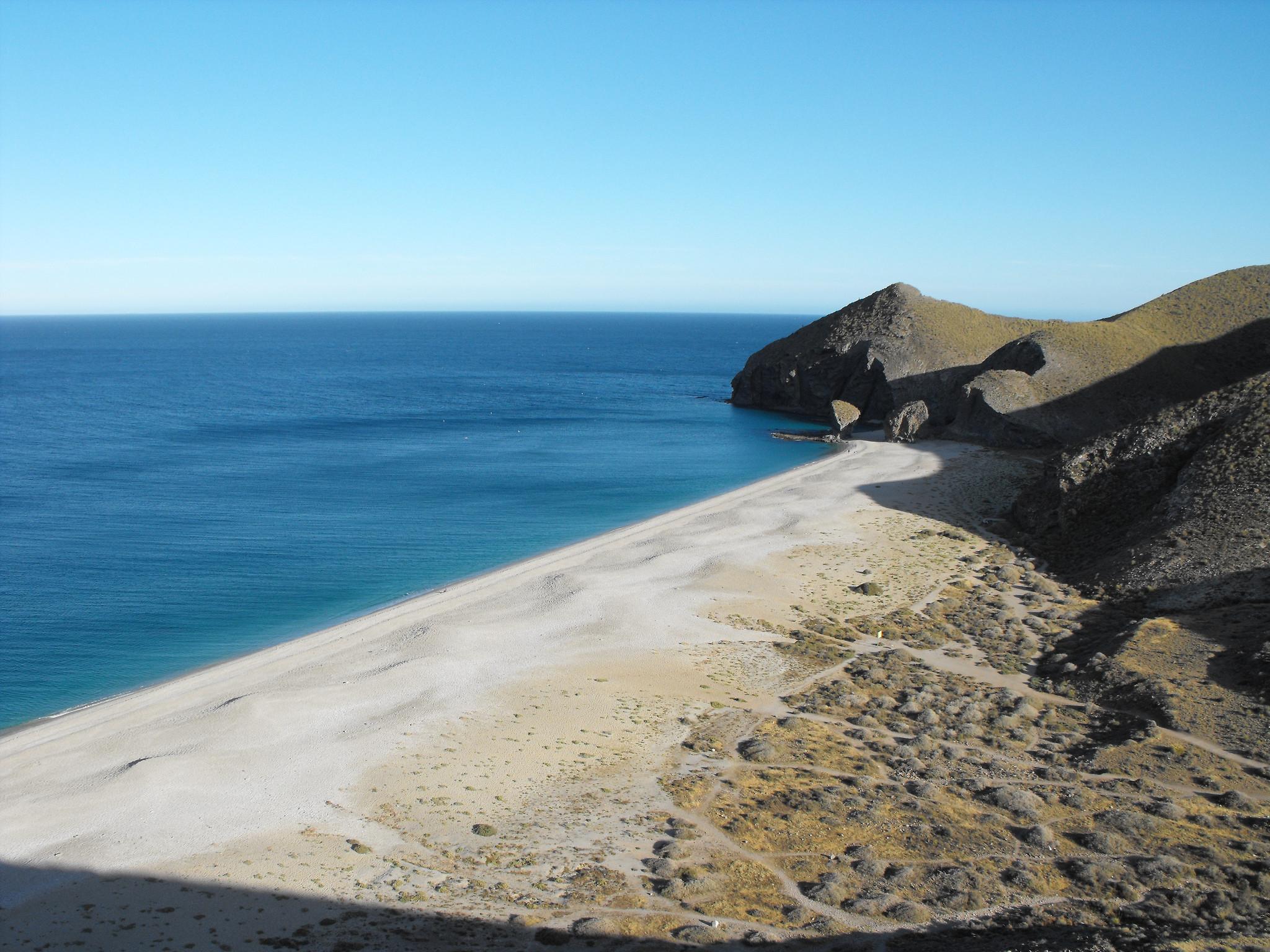 Visitar Playa de los Muertos en Almeria