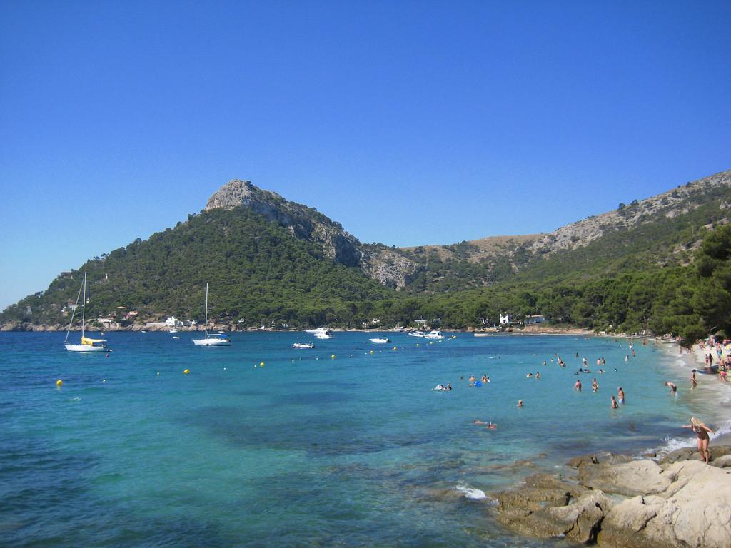 Visitar Playa Formentor