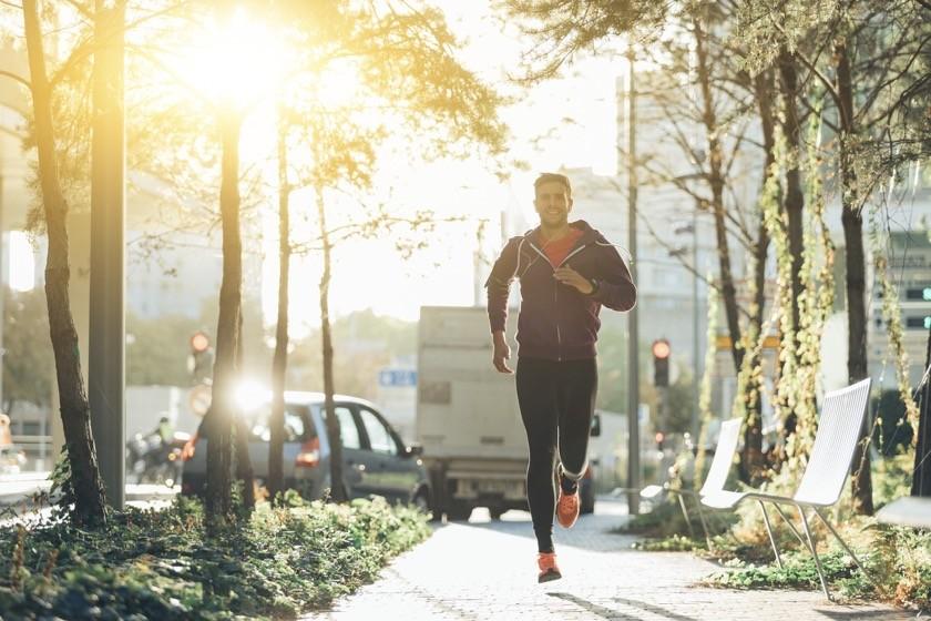 correr en la ciudad