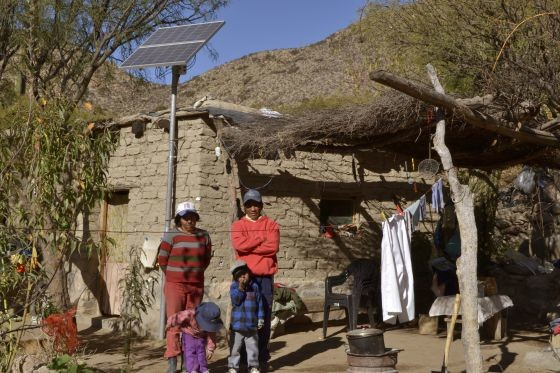 electrificar zonas rurales