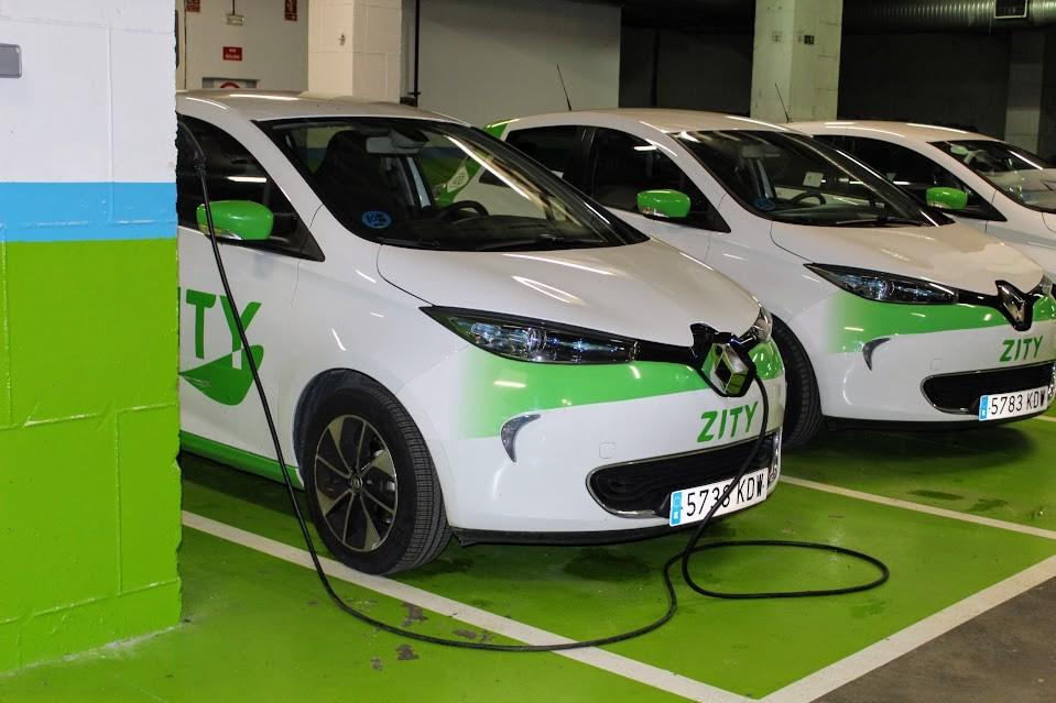 coche eléctrico en hoteles