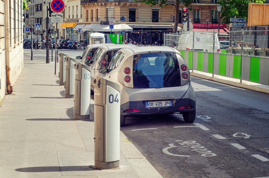 Renault carsharing Paris