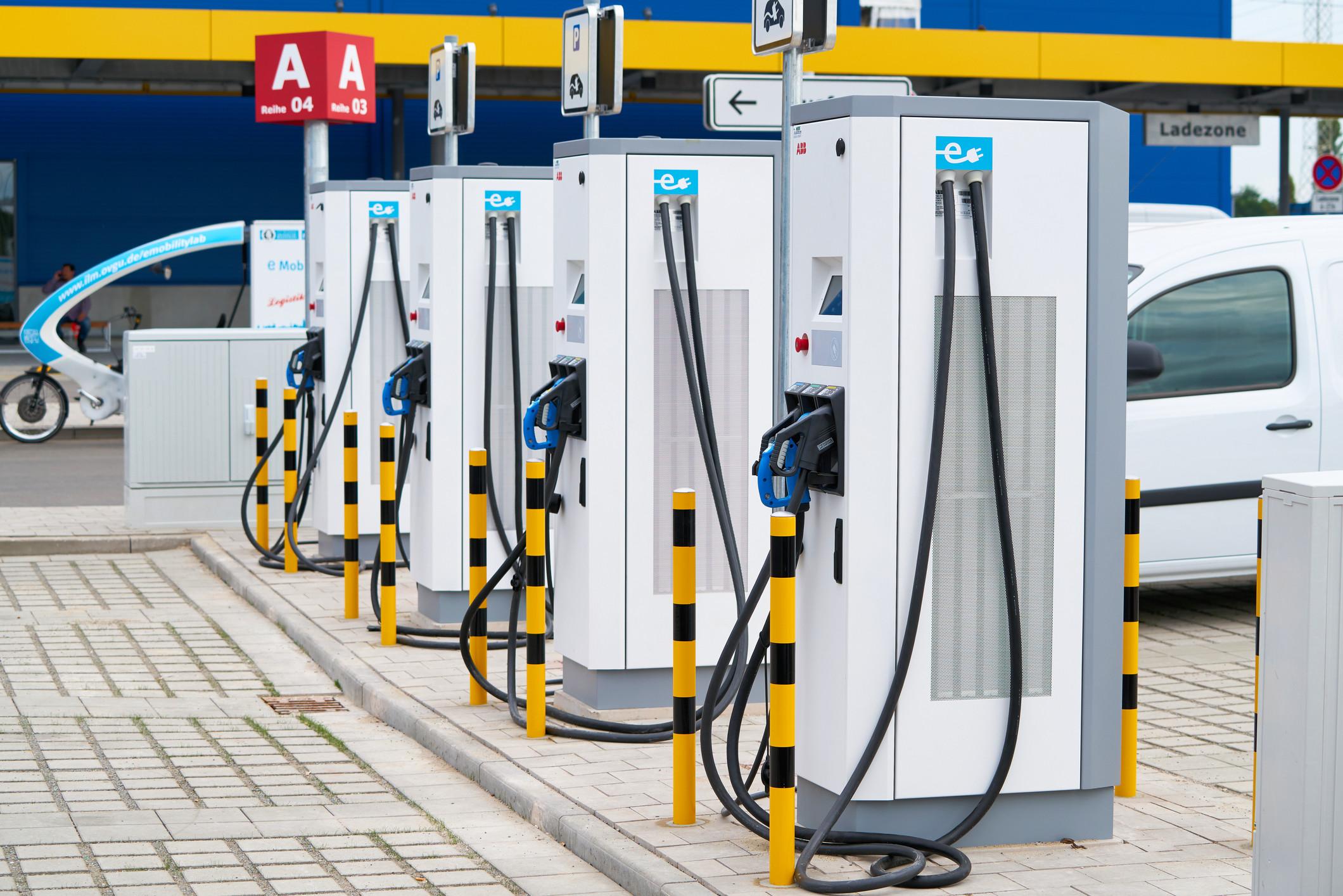Gasolineras coche electrico