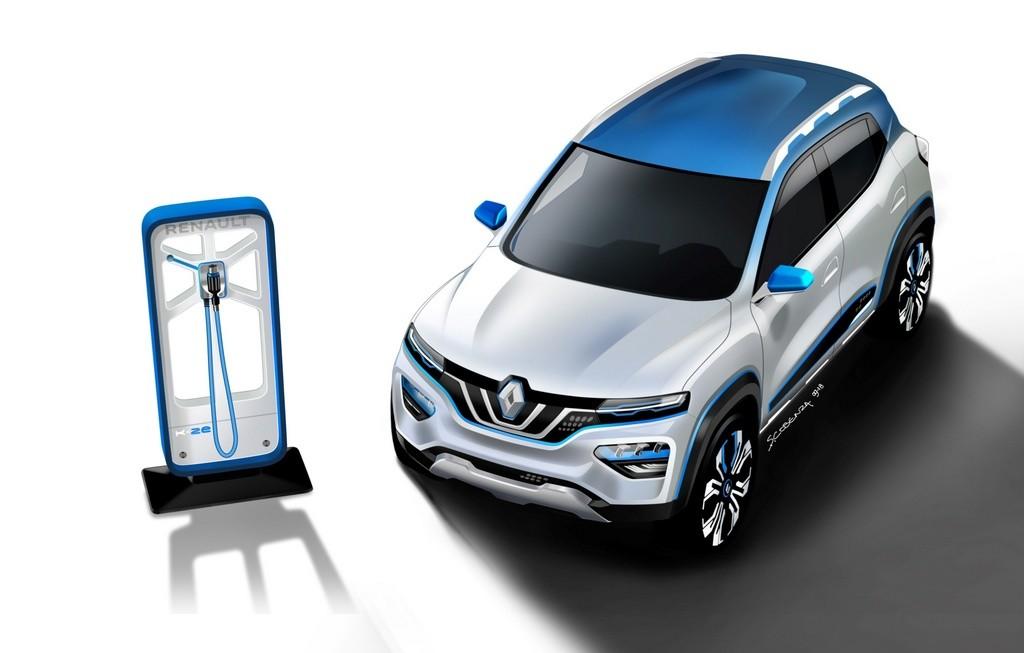 Renault K-ZE 100% eléctrico