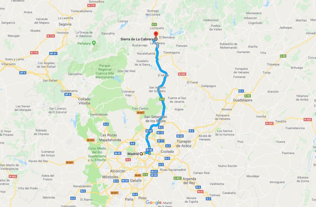 rutas de senderismo