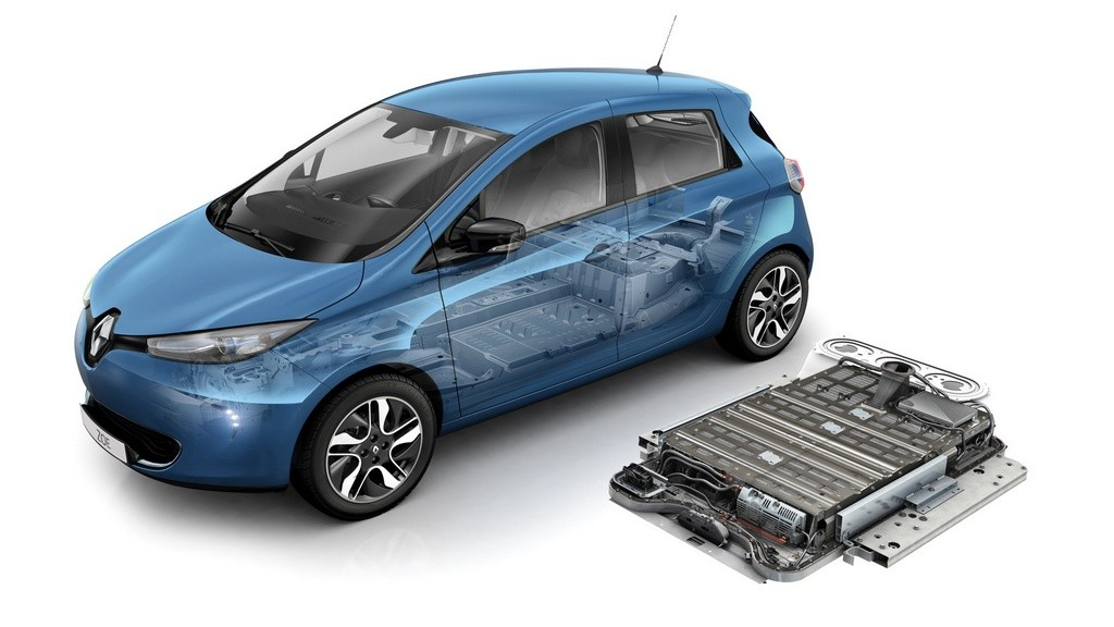Batería del Renault ZOE
