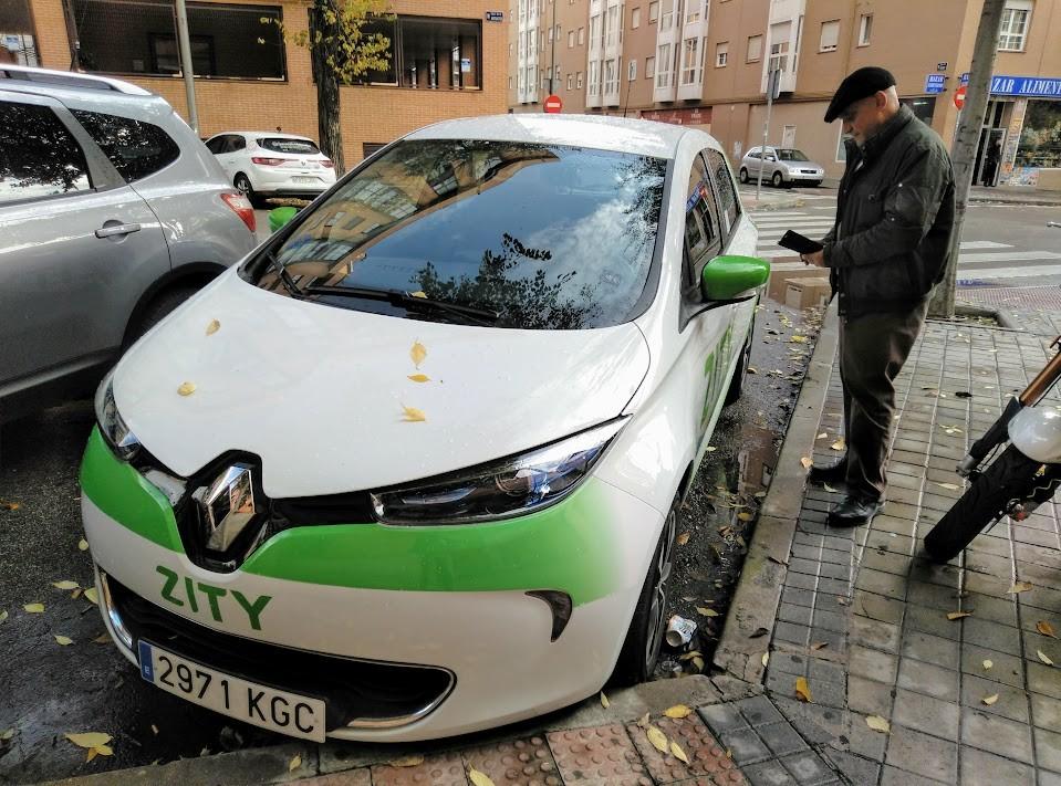 prueba coche electrico