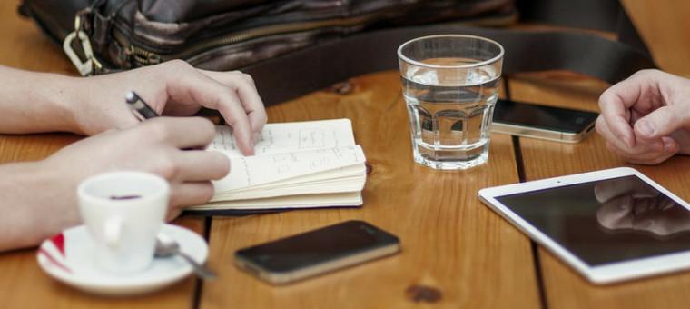 Tomar notas en formato digital