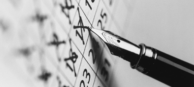 Calendario de eventos legales