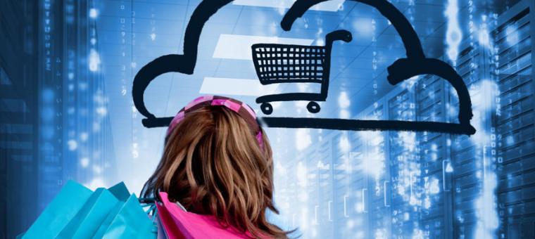 Infografía evolución venta tradicional VS venta por internet