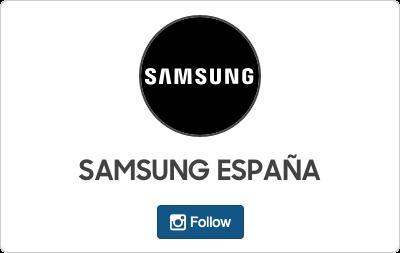 Samsung en Instagram