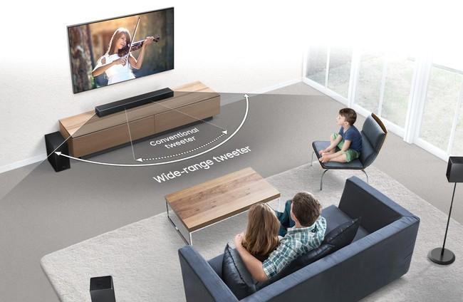 Televisor don Dolby Atmos