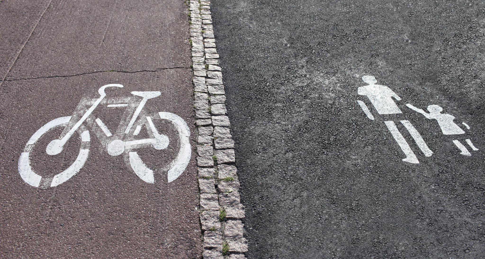 Ciudades caminables carril bici