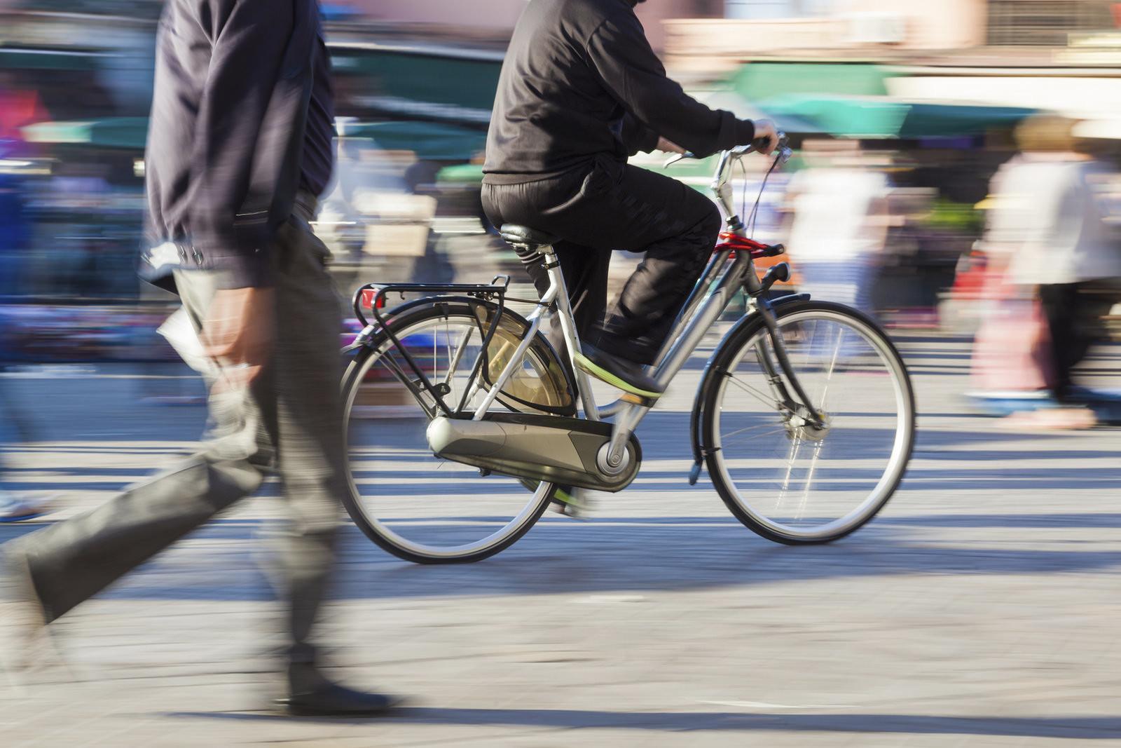 Ciudades caminables espacio compartido