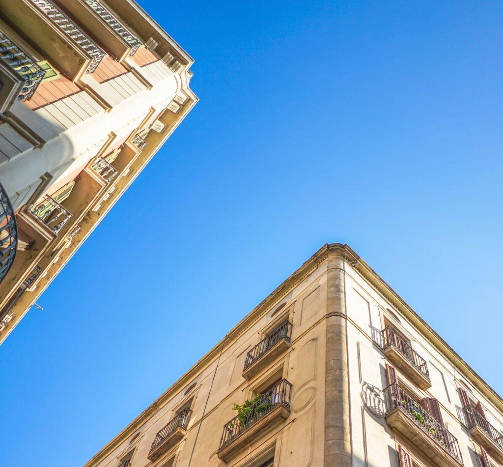 Edificios de Barcelona.