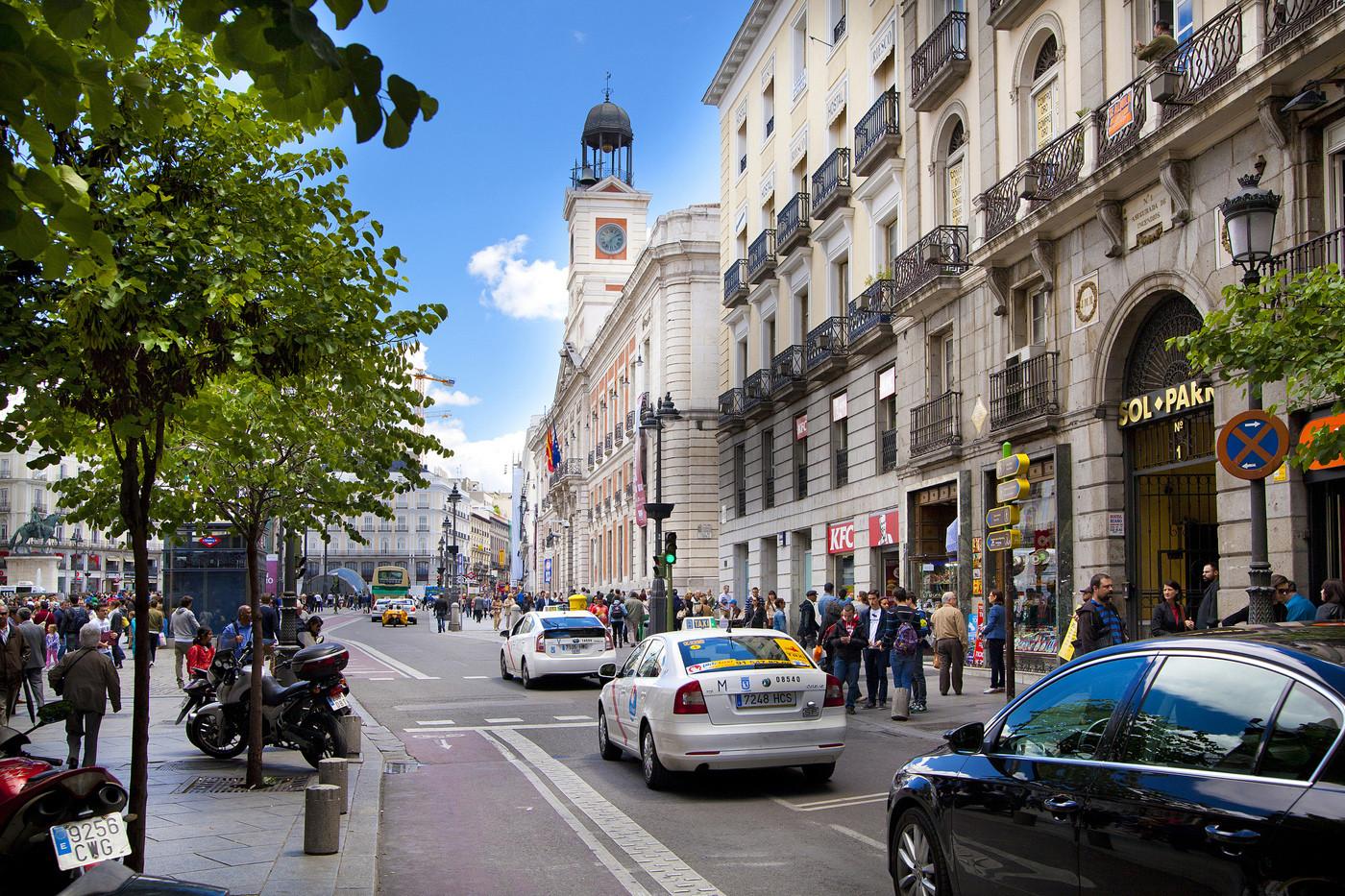 Puerta del Sol Madrid urbanismo