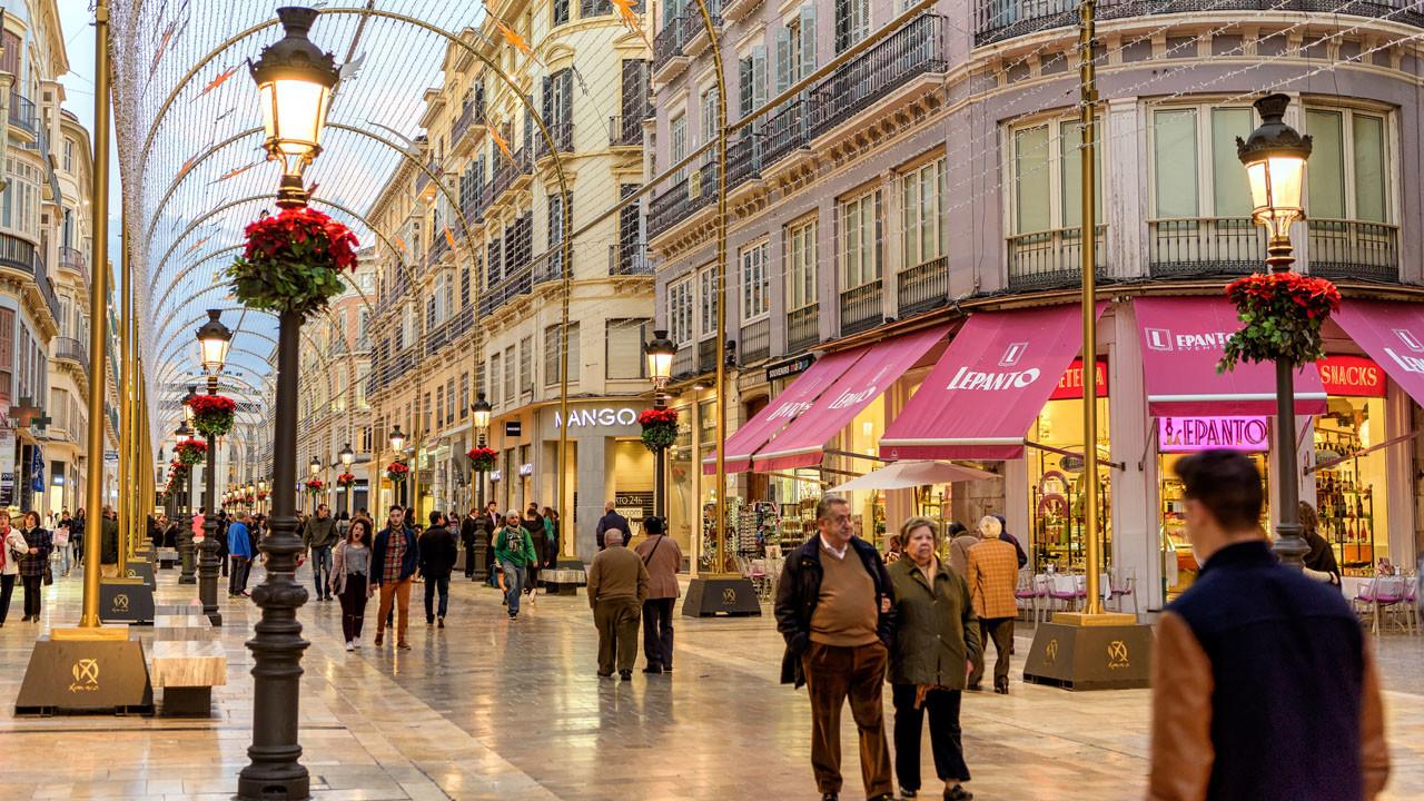 calle comercial Málaga