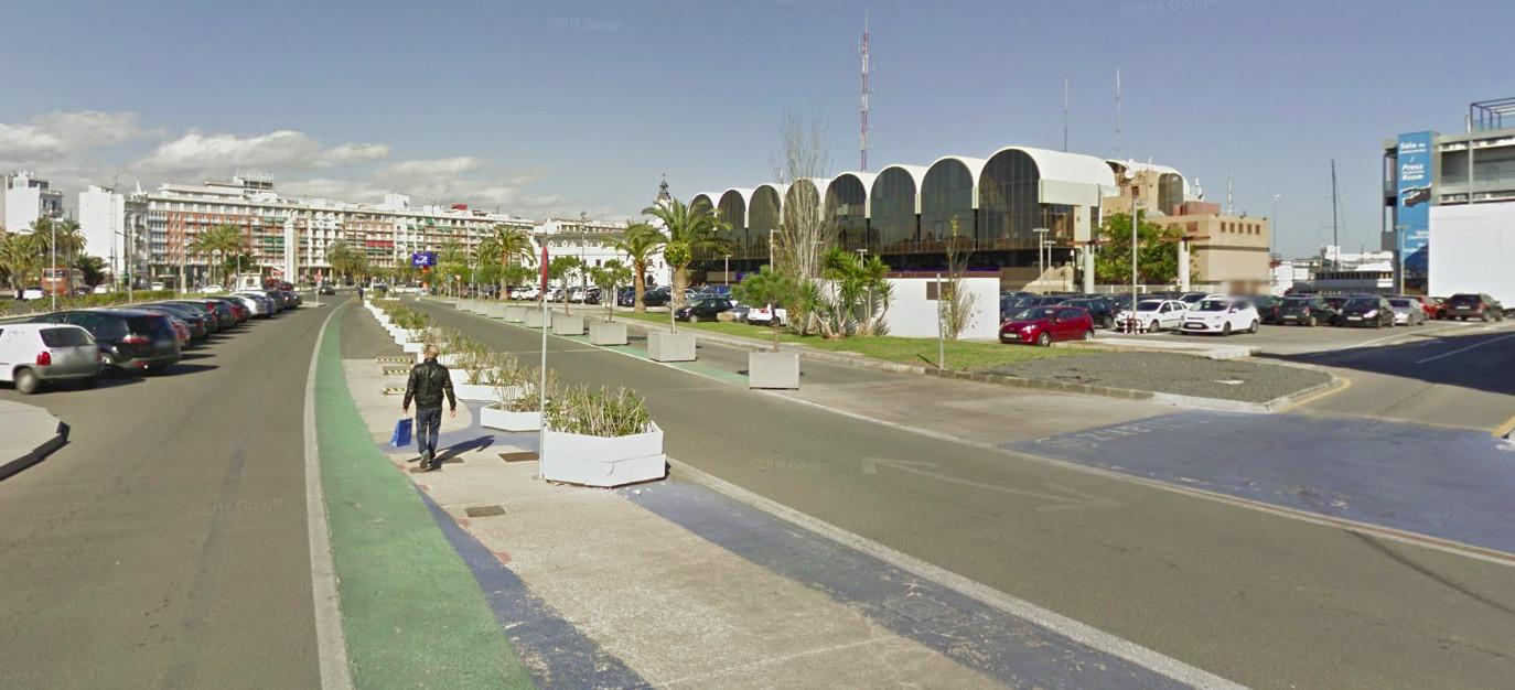 Circuito urbano Valencia F1