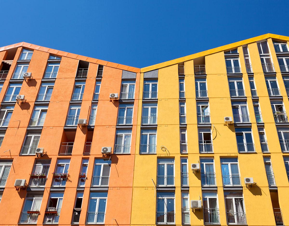 fachada del mismo color vecinos comunidad que puedo cambiar