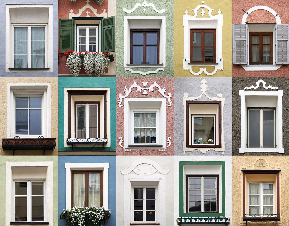 puedo cambiar el color de las ventanas de mi fachada