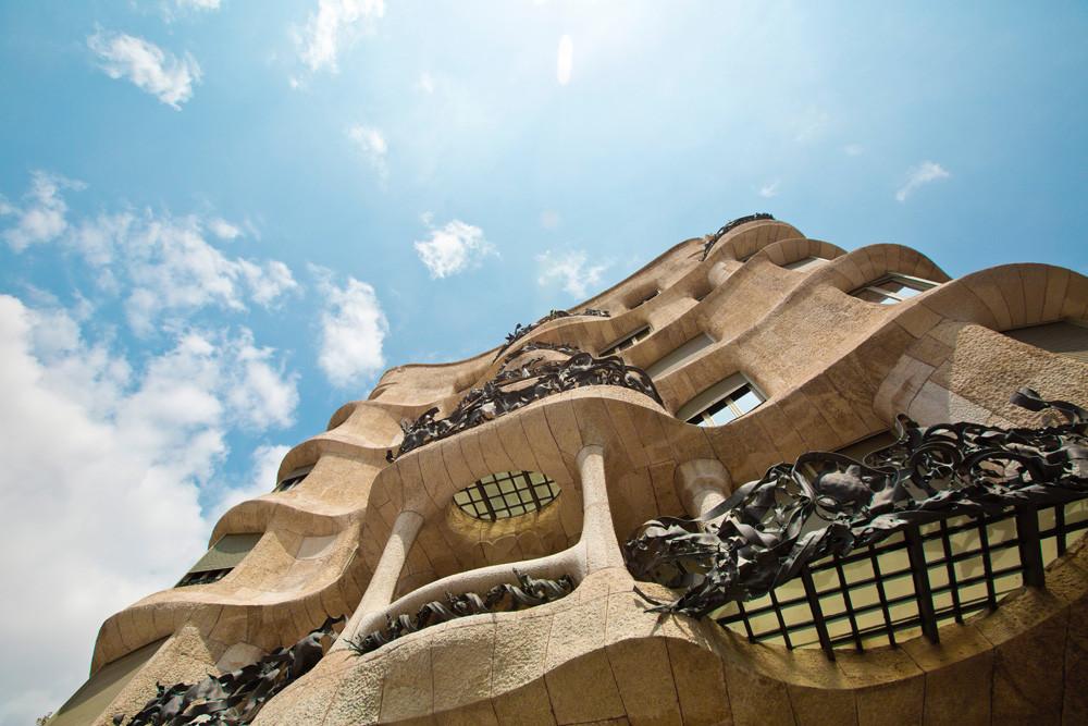 Gaudí Barcelona La Pedrera