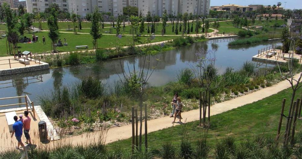 Parque La Marjal en Alicante