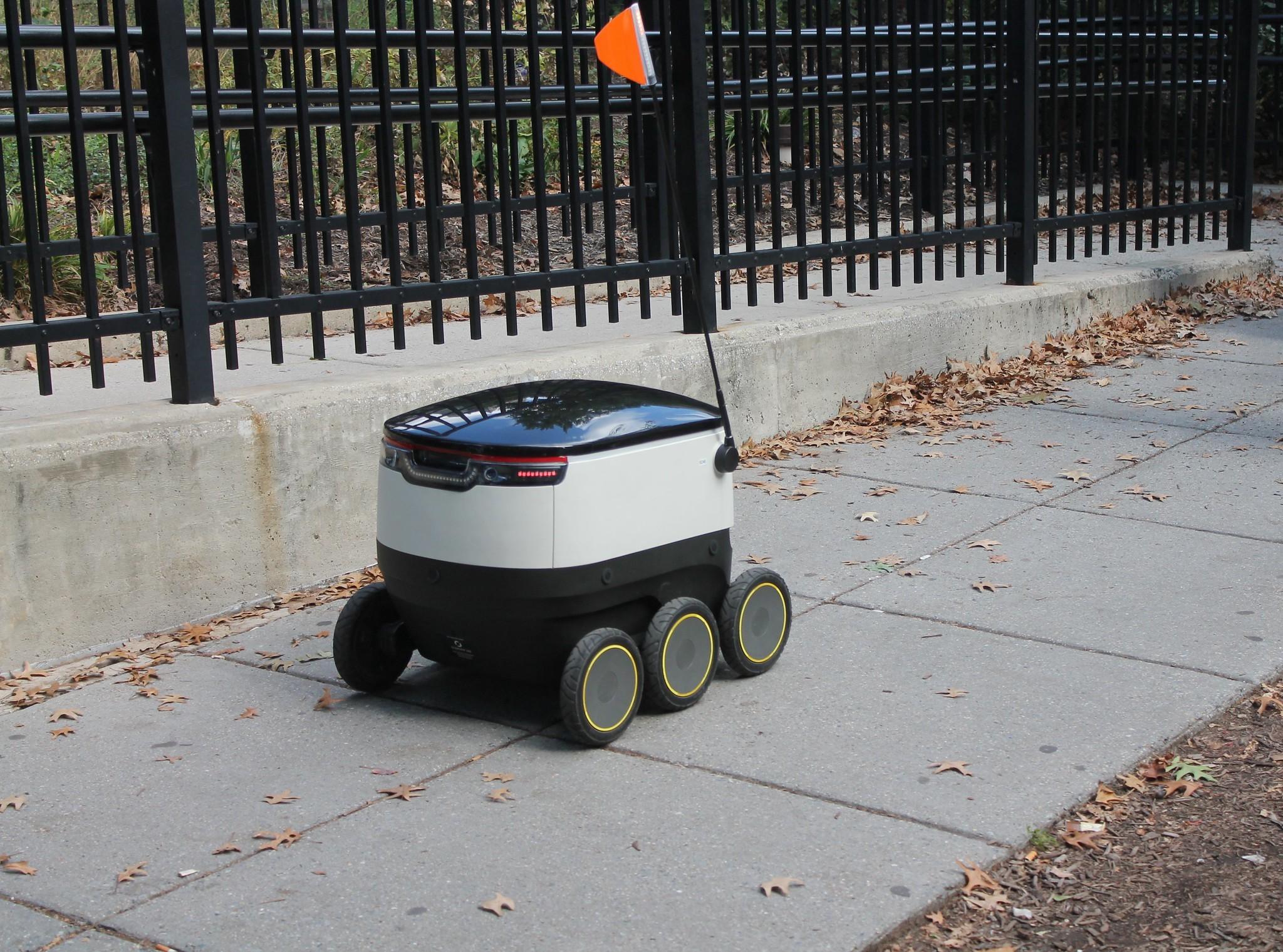 robot entrega comida