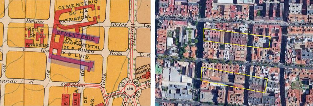 Cementerio de San Ginés, antes y después