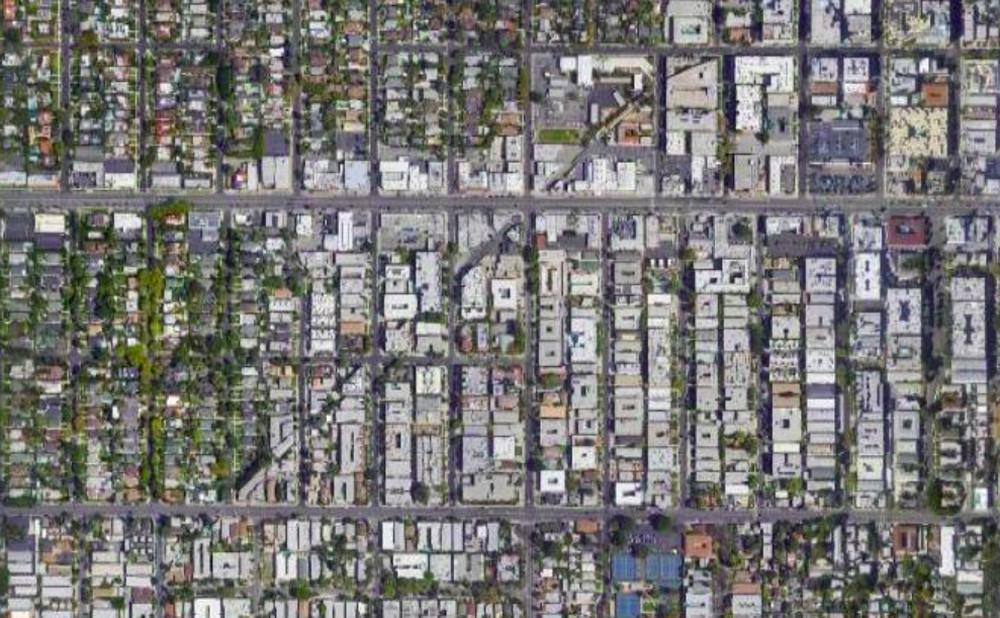Ghost lane en Los Ángeles