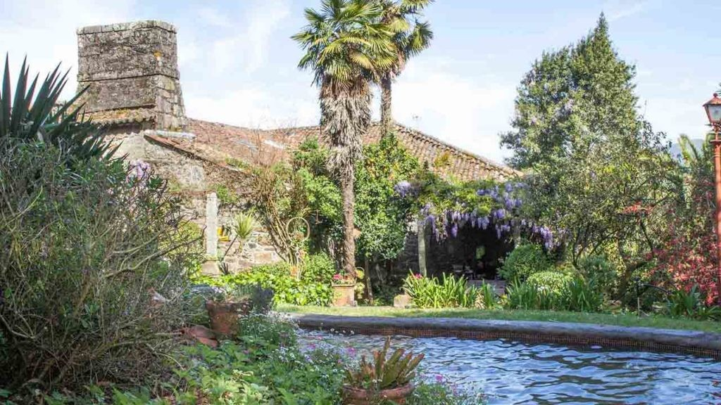 Propiedad gestionada por Galician Country Homes, una iniciativa para repoblar el mundo rural.