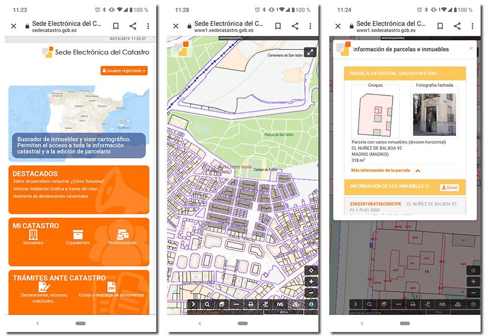 sede electronica del catastro aplicaciones comprar casa