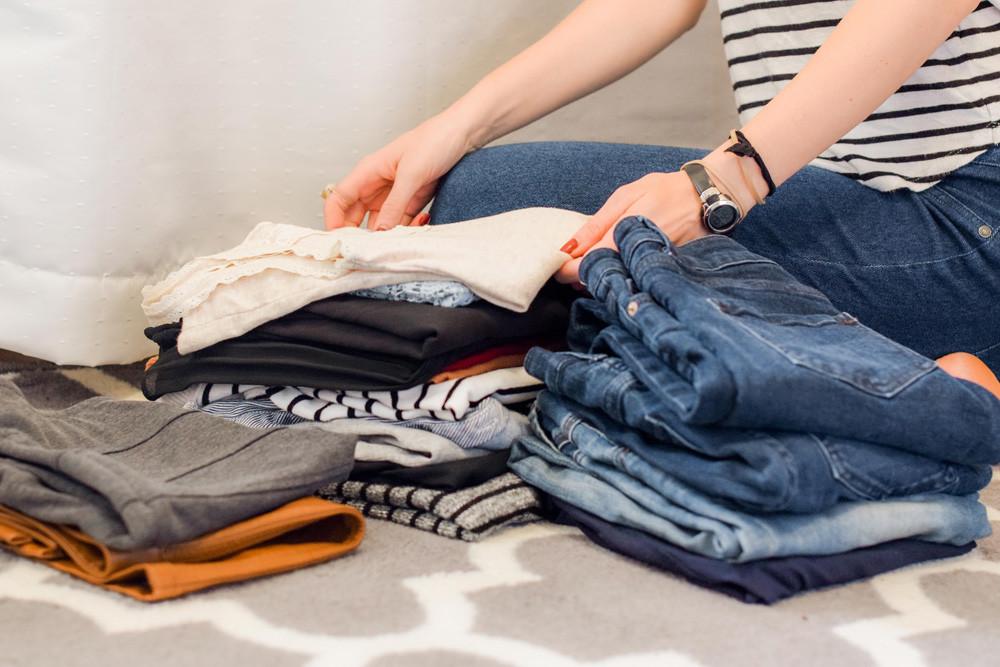 Limpieza de armarios