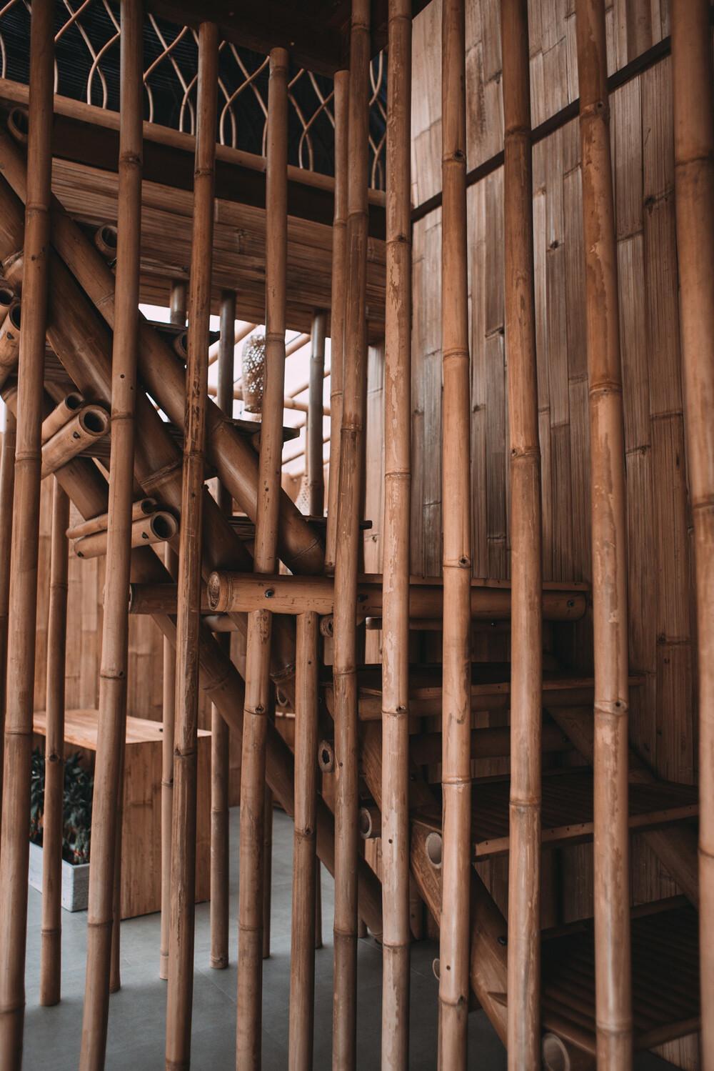 Uso de bambú en construcción